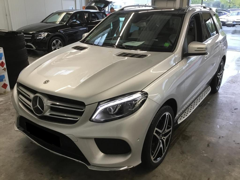 Mercedes-Benz GLE 400 4M AMG Distronic Pano. 21'' Airmatic 360, Jahr 2017, petrol