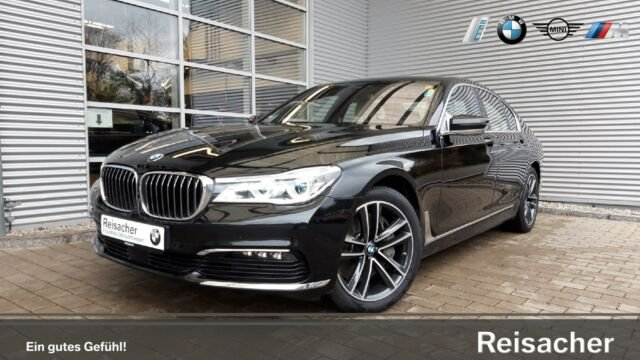 BMW 750i A xDrive Standh,DAB,ACC,Laser,SurrV,HUD,h&k, Jahr 2015, petrol