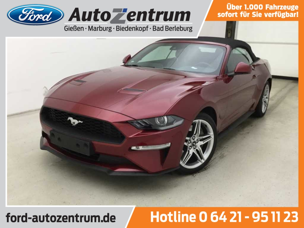 Ford Mustang 2.3 EcoBoost Convertible LED -23%*, Jahr 2019, Benzin