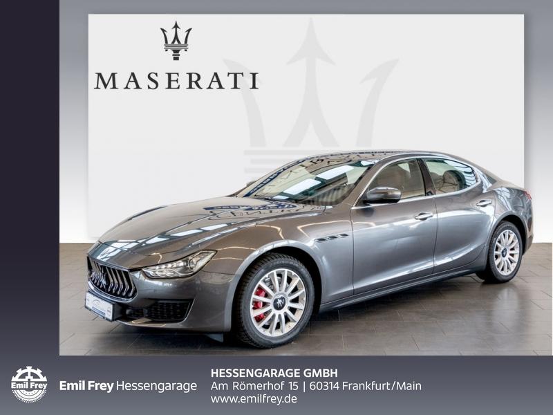 Maserati Ghibli Aut. Softclose DAB Totwinkel Leder, Jahr 2018, Diesel