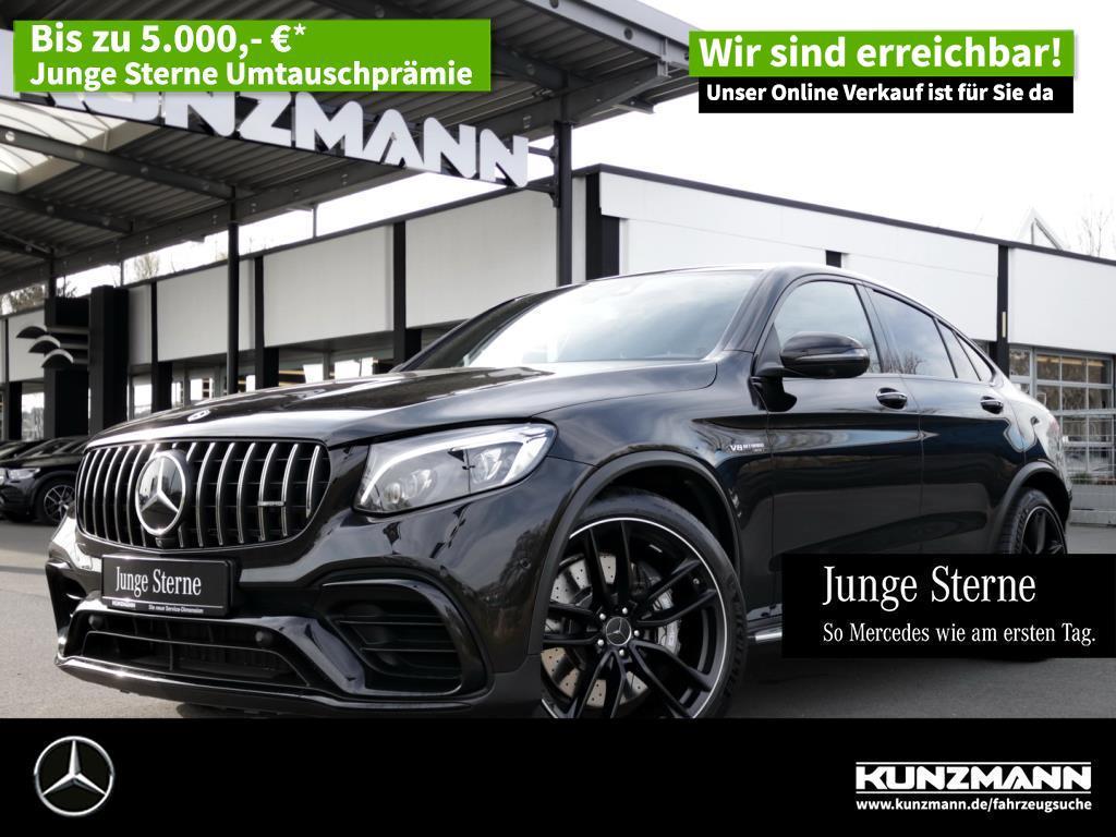 Mercedes-Benz GLC 63 AMG 4M+ Coupé Night Comand LED 360°Kamera, Jahr 2019, Benzin