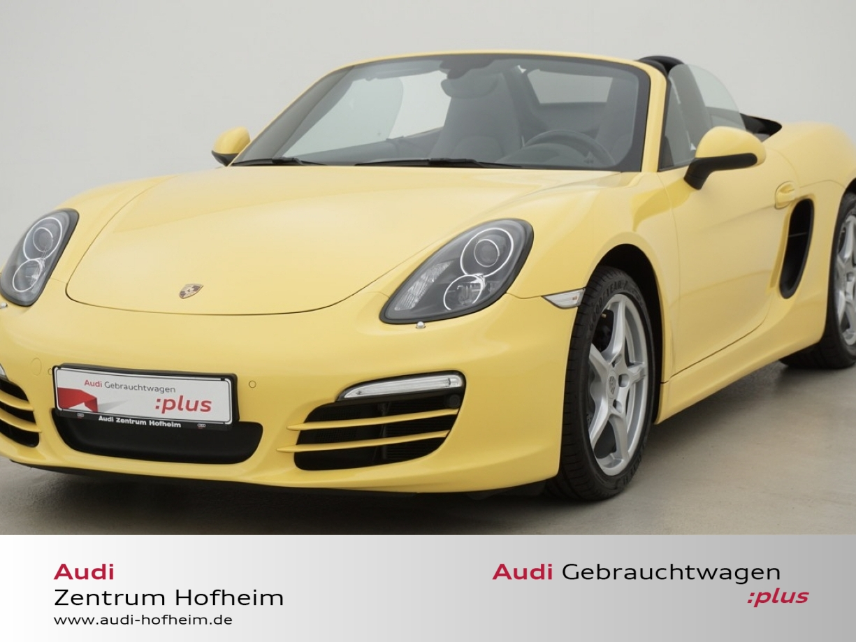 Porsche Boxster 2.7 PDK*195kW*Xenon*PCM*Bluet.*Sound*GRA, Jahr 2013, petrol