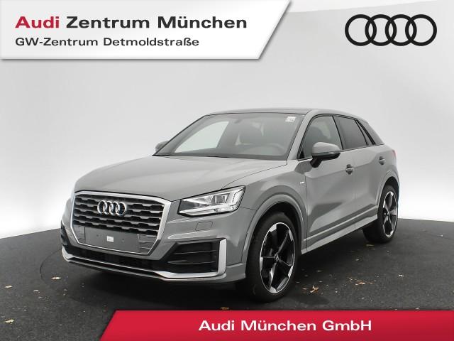 "Audi Q2 30 TFSI S line 19"" Standhz. Pano Virtual LED Navi Teilleder #comfort S tronic, Jahr 2019, petrol"