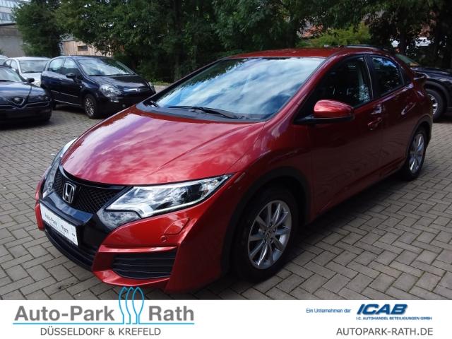 Honda Civic 1.4 Comfort ALU KLIMAAUTOMATIK LED TAGFAHRLICHT, Jahr 2015, Benzin