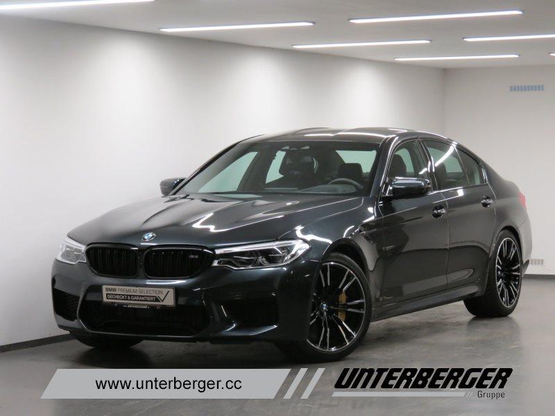 BMW M5 Limousine UPE: 151.490,00 Euro M Driver's Package Carbon Keramik Bremse, Jahr 2018, Benzin