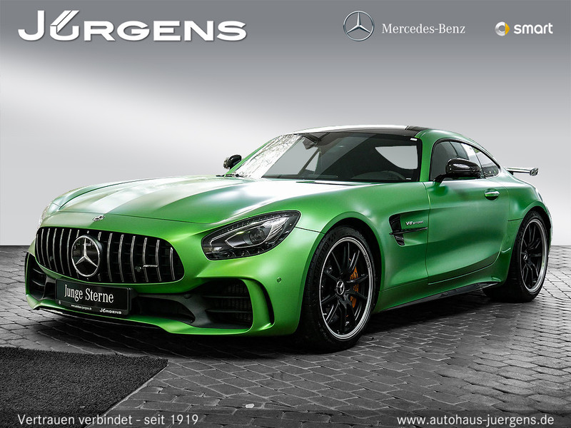 Mercedes-Benz AMG GT R Comand/Carbon/Keramik/3D-Sound/Distr, Jahr 2017, Benzin