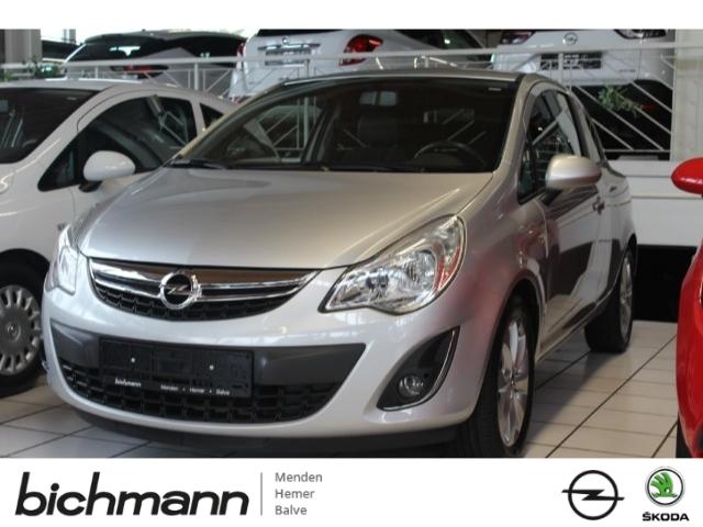 Opel Corsa 150J. CDmp3 SHZ LHZ Tempo BC, Jahr 2012, Benzin