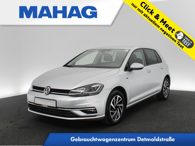 Volkswagen Golf VII 1.6 TDI JOIN Navi Kamera FahrerAssist ParkPilot Bluetooth 16Zoll 5-Gang, Jahr 2019, Diesel