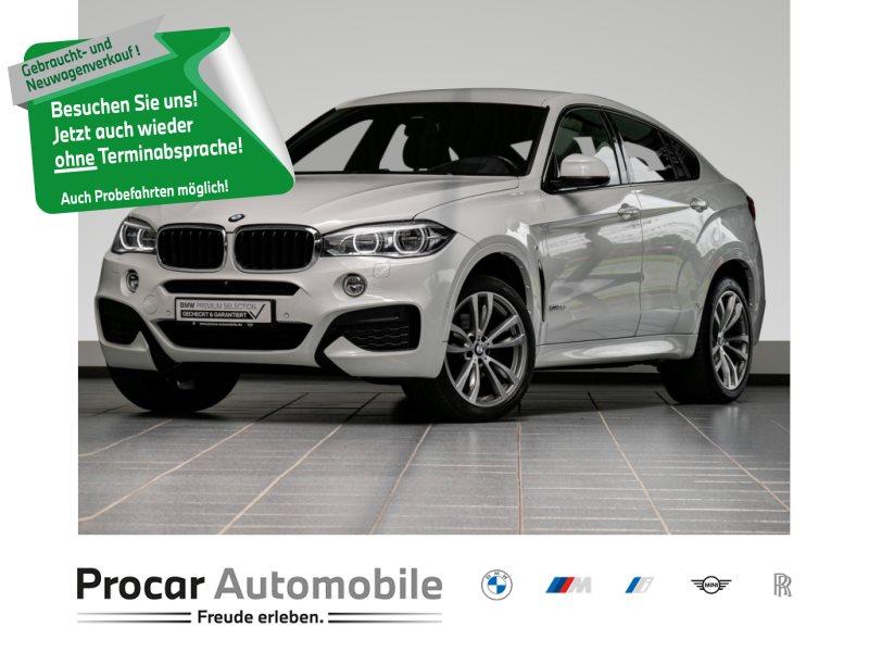BMW X6 xDrive35i M-Sportpaket+Head-Up+HK+HiFi+LED, Jahr 2018, Benzin