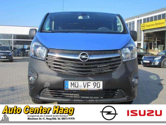Opel Vivaro B Kasten Combi L1H1 2,7t 1.6 CDTI Klima Temp CD AUX USB MP3 ESP DPF Regensensor, Jahr 2014, Diesel