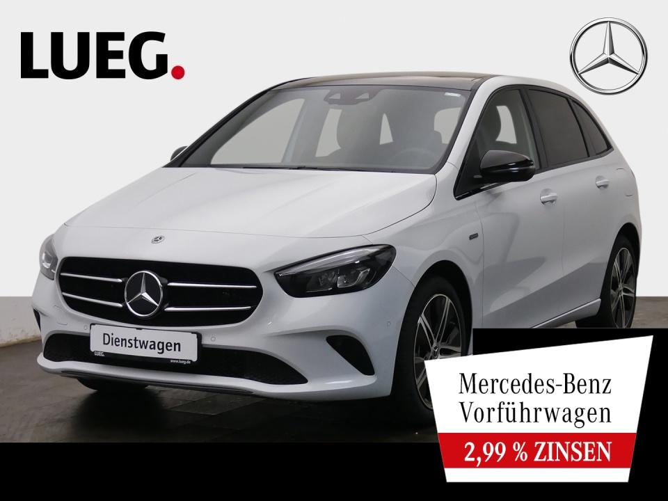 Mercedes-Benz B 250 e PROGRESSIVE+NIGHT+PANO+AHK+TOTW+KAMERA, Jahr 2021, Hybrid