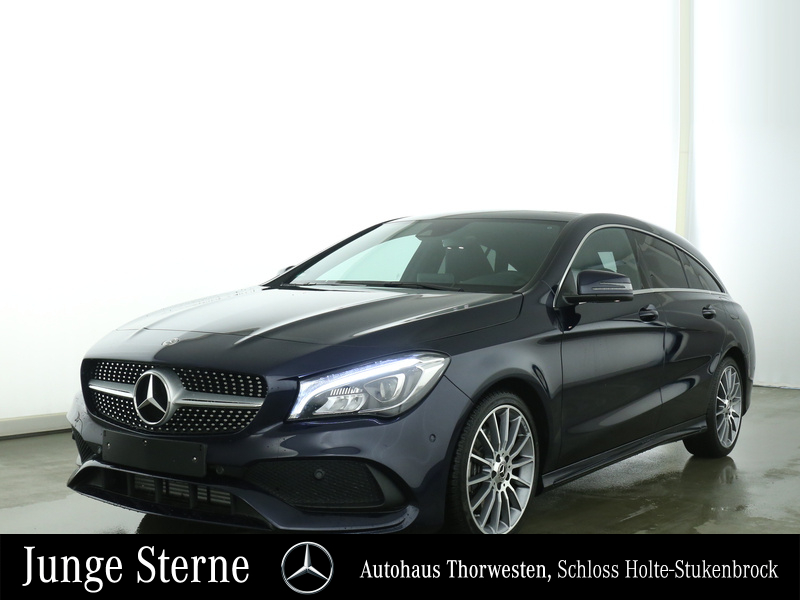 Mercedes-Benz CLA 250 Shooting Brake AMG Line LED Panorama, Jahr 2017, Benzin