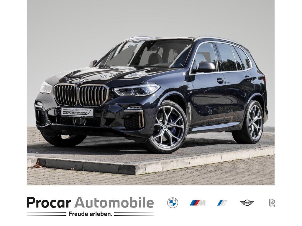 BMW X5 M50d 21 Zoll Pano Prof. M Fahrwerk HUD AHK Sportbremse, Jahr 2020, Diesel