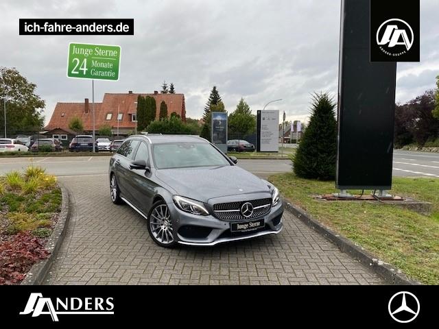 Mercedes-Benz C 43 4M T AMG Comand+Fahrassist.+360°+HUD+LED, Jahr 2016, Benzin