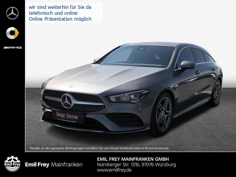 Mercedes-Benz CLA 250 Shooting Brake 7G-DCT AMG Line, Jahr 2020, Benzin