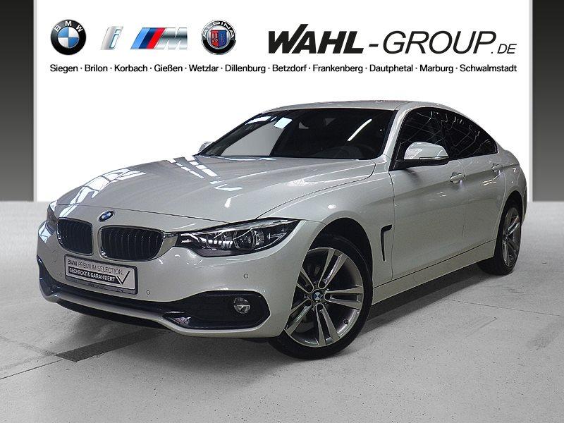 BMW 420d xDrive Gran Coupé Aut. Sport Line RFK Navi Bus., Jahr 2017, Diesel