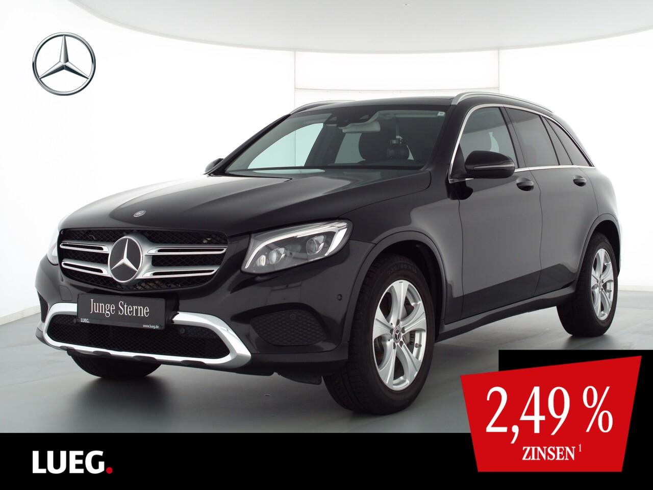 Mercedes-Benz GLC 220 d 4M Navi+Pano+LED-ILS+Sthzg+Distr+ParkA, Jahr 2017, Diesel
