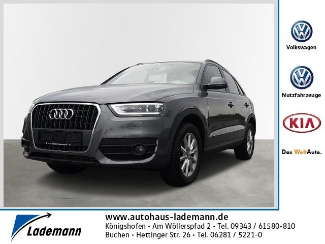 Audi Q3 2.0 TDI XENON KLIMAANLAGE EINPARKHILFE SITZHE, Jahr 2015, Diesel