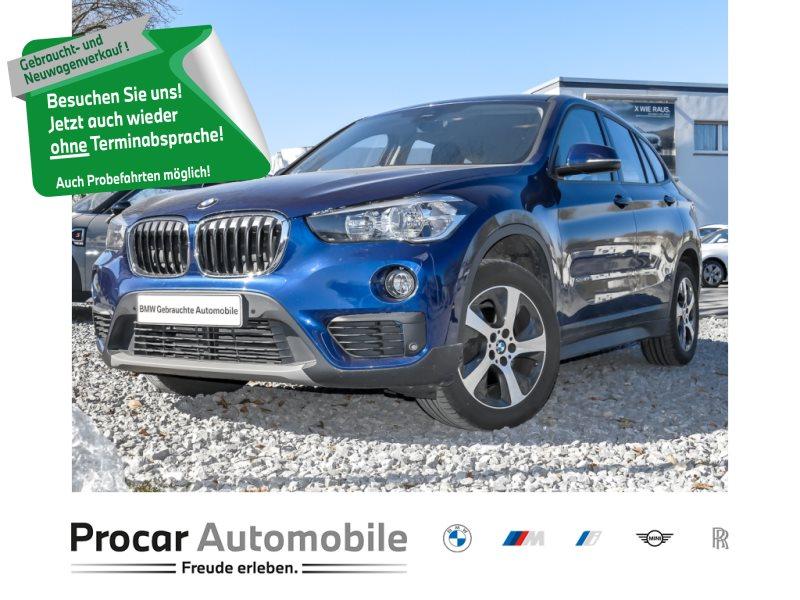 BMW X1 sDrive18i Metallic+Parkassistent +Klima+ PDC, Jahr 2016, Benzin