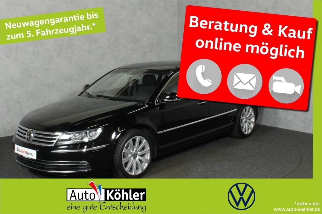 Volkswagen Phaeton TDi Rear View /Sitzbelüftung u. Massage-, Jahr 2015, Diesel
