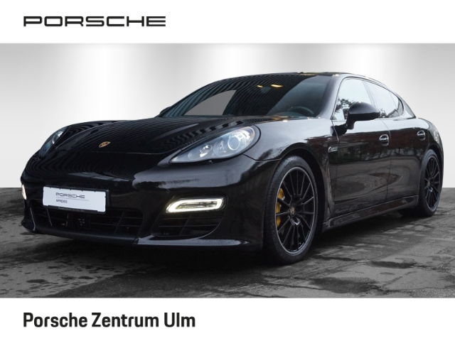 Porsche Panamera GTS PCCB PDCC Abstandsregeltempostat, Jahr 2012, petrol