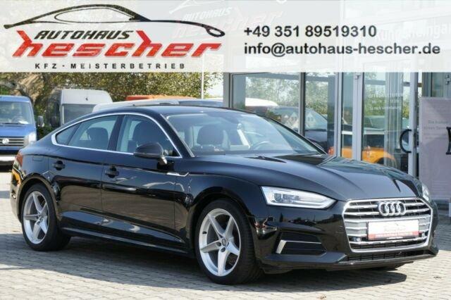 Audi A5 2,0 TFSI Sportback S-tronic*LED*NAVI*WEBASTO*, Jahr 2017, Benzin