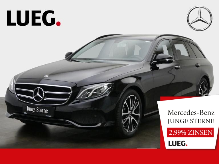 Mercedes-Benz E 200 T Avantgarde+Navi+LED+18''+Sthzg+Night+RFK, Jahr 2019, Benzin