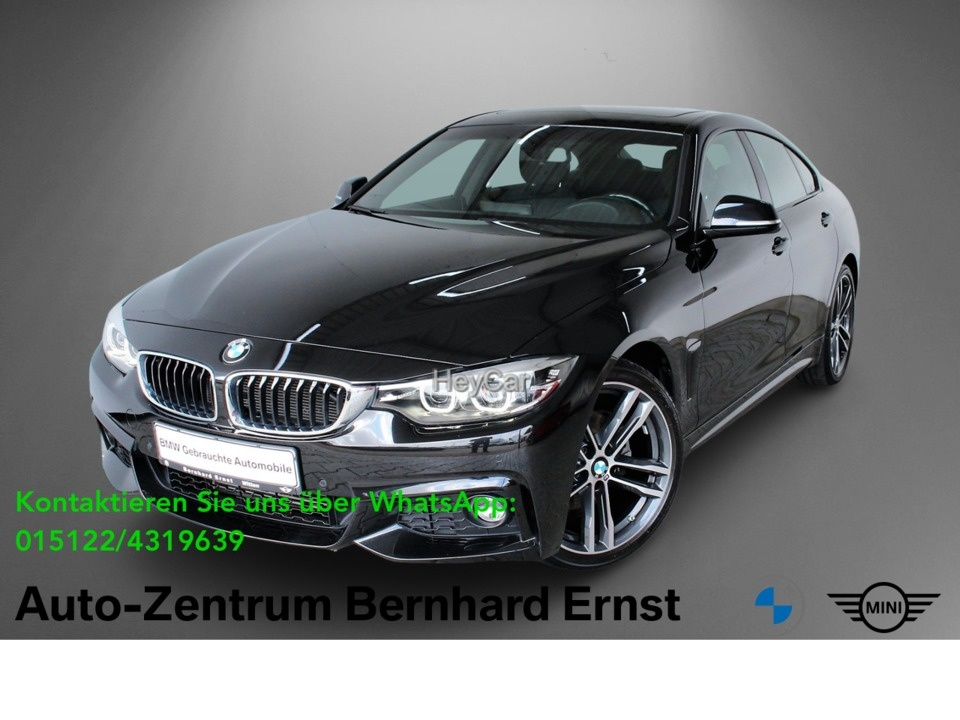 BMW 420 Gran Coupe D M Sport Navi Prof. Aut. Glasdach, Jahr 2018, Diesel