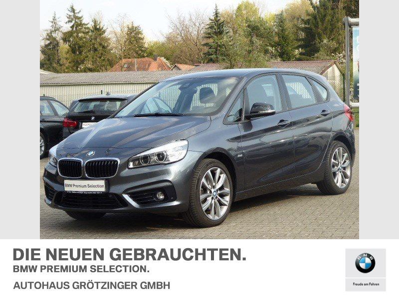 BMW 220i SPORT-LINE+KOMFORTZUGANG+HEAD-UP, Jahr 2016, Benzin