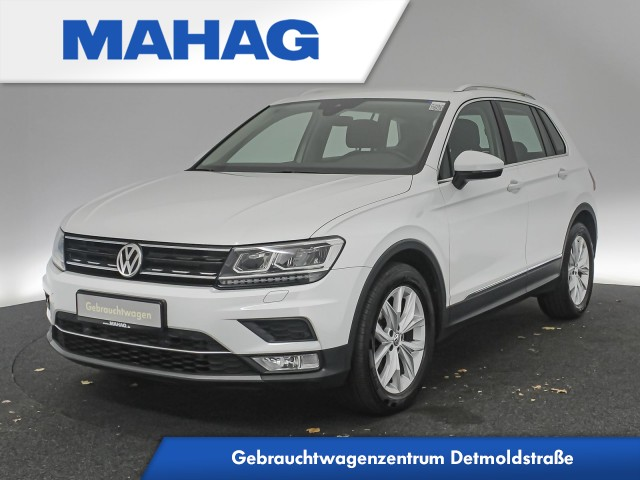 Volkswagen Tiguan 2.0 TDI Highline Navi LED ParkPilot DSG, Jahr 2017, Diesel