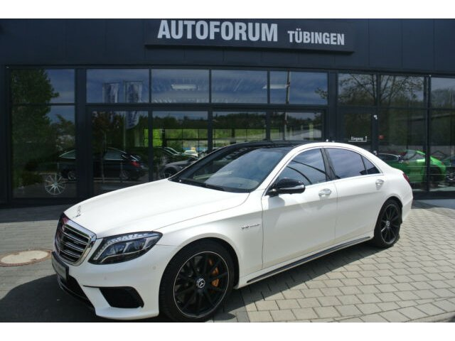 Mercedes-Benz S 65 AMG L*NACHTSICHT*SHZ*NIGHT*KERAMIK*TV*, Jahr 2016, Benzin