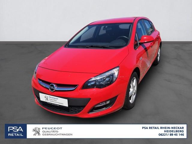 Opel Astra Selection 1.6 115*KLIMA*RADIO*, Jahr 2015, Benzin