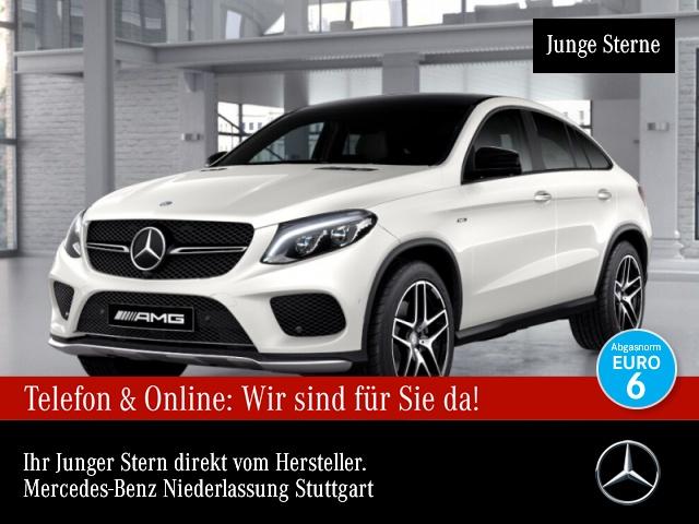 Mercedes-Benz GLE 450 AMG Cp. 4M AMG 360° Airmat Stdhzg Pano, Jahr 2016, Benzin