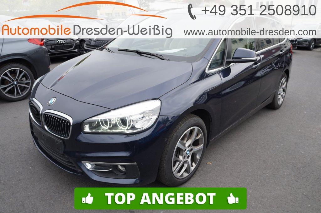 BMW 220 Gran Tourer dA xDrive Luxury Line*Leder*Pano, Jahr 2017, Diesel
