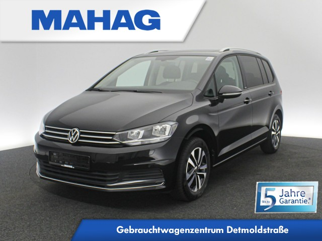 Volkswagen Touran UNITED 2.0 TDI 7-Sitzer Navi AHK Panorama Sprachbed. LightAssist DAB+ 6-Gang, Jahr 2020, Diesel
