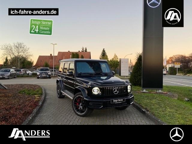 Mercedes-Benz G 63 AMG+LED+Wide+SHD+Comand+Dist.+DriversP+Burm, Jahr 2018, Benzin