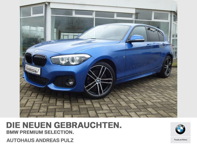 BMW 125d A. M-Sport LED Navi Tempo USB Shz PDC, Jahr 2018, Diesel