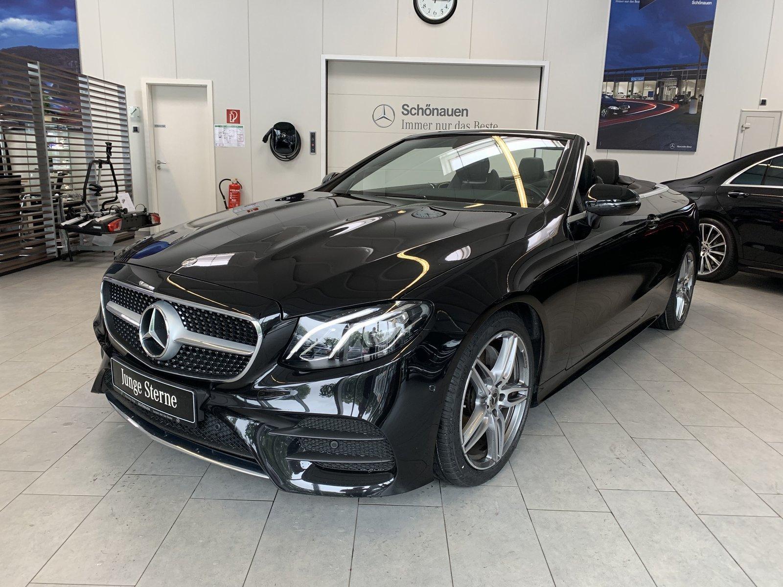 Mercedes-Benz E 220d Cabriolet AMG+WIDESCREEN+KAMERA+TOTW.+DAB, Jahr 2019, Diesel