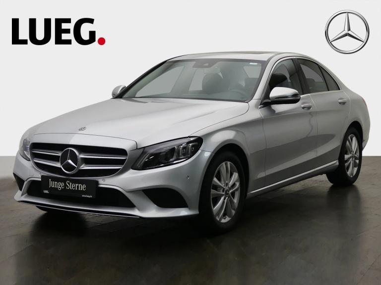 Mercedes-Benz C 180 Avantgarde+Navi+SHD+Mbeam+SpurP+CarPl+RFK+, Jahr 2019, Benzin