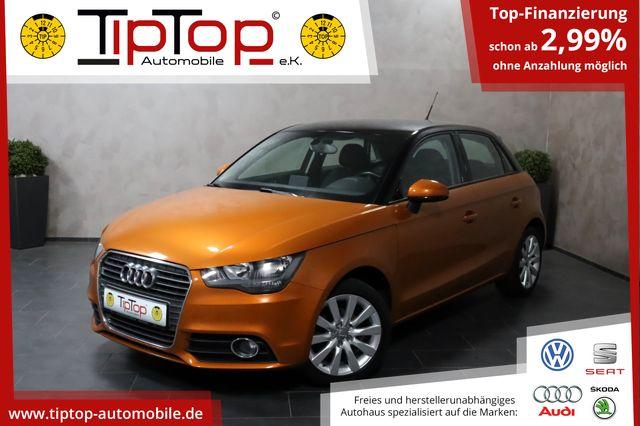 Audi A1 Sportback 1.2 TSI Shz Pdc Lmf 5-Türer, Jahr 2013, Benzin
