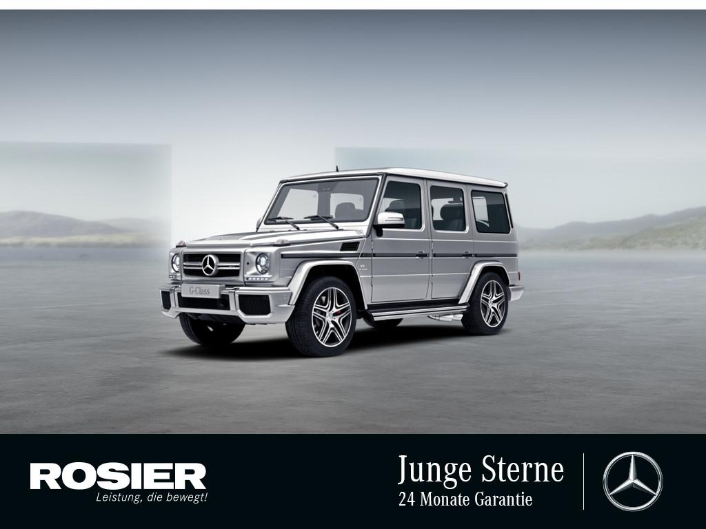 Mercedes-Benz G 63 AMG Exclusive Edition, Jahr 2017, Benzin