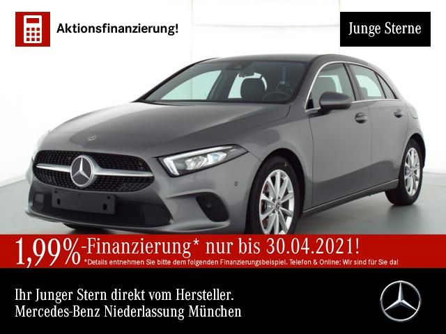 Mercedes-Benz A 180 Progressive Navi Premium LED AHK Kamera PTS, Jahr 2019, Benzin