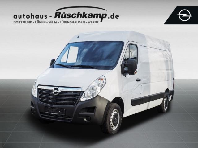 Opel Movano B Kasten L2H2 3,5t Klima AHK PDC ZV BT Allwetter, Jahr 2018, Diesel
