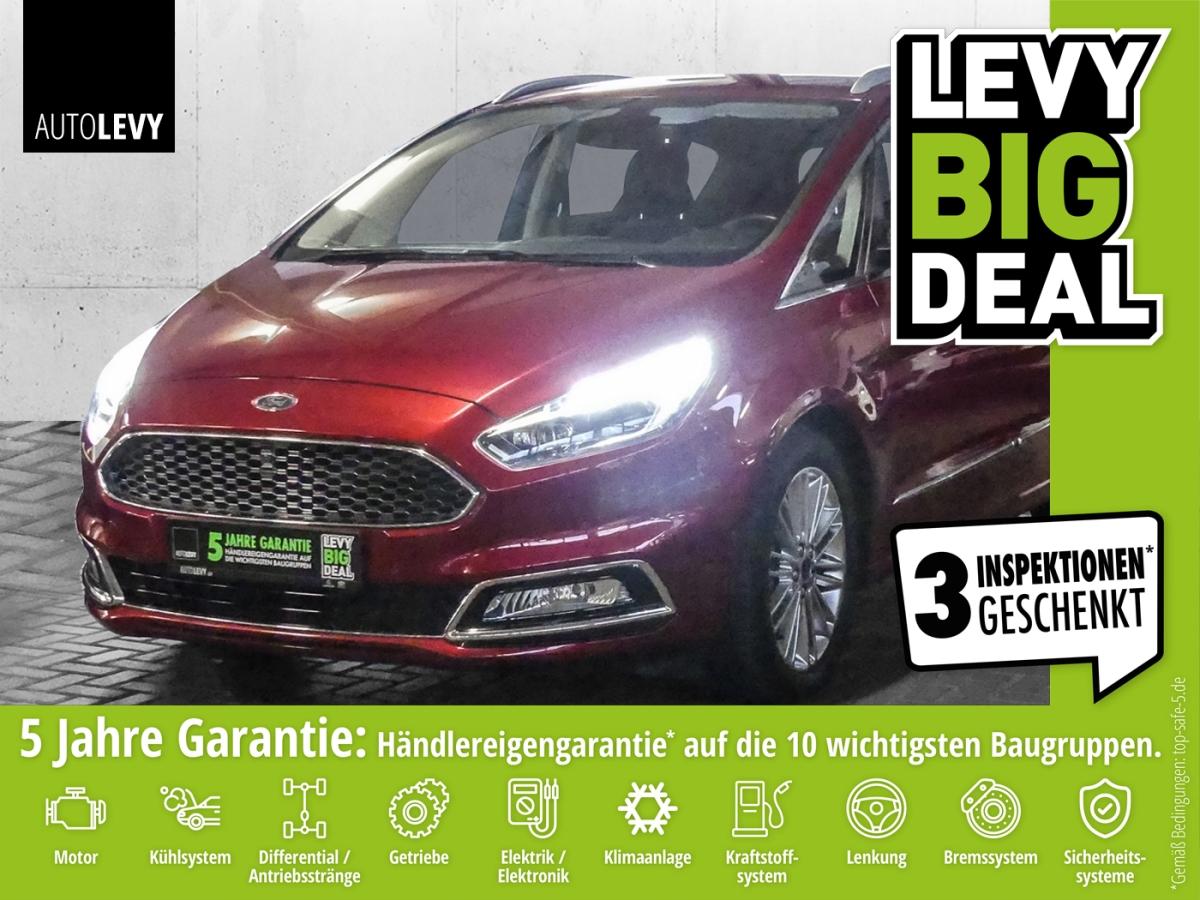 Ford S-Max 2.0 TDCi Aut. Allrad Vignale *Navi*Leder*K, Jahr 2017, Diesel