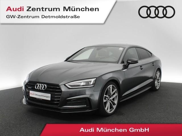 "Audi A5 Sportback 2.0 TDI qu. S line Virtual LED AHK Assistenz Navi Teilleder R-Kamera 19"" S tronic, Jahr 2018, diesel"