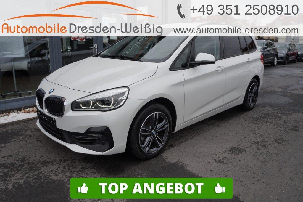 BMW 216 Gran Tourer i Sport Line*Navi*PDC*LED*18, Jahr 2019, Benzin