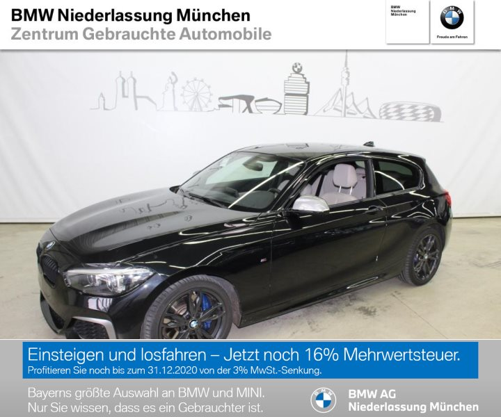 BMW M140i xDrive 3-Türer M Sportbr. HiFi LED RTTI, Jahr 2017, Benzin