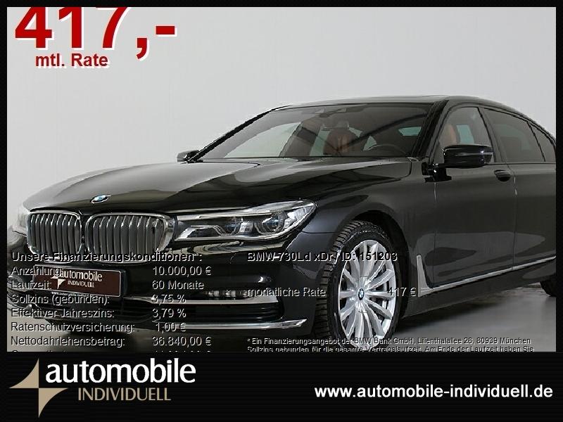 BMW 730Ld xDr Laser 4xel.Sitze 3xTV Standh, Jahr 2018, Diesel