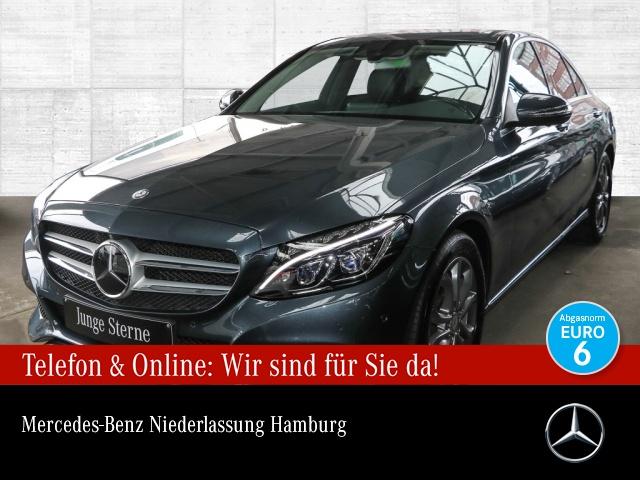 Mercedes-Benz C 220 d BE Avantgarde 360° Stdhzg Distr+ ILS LED, Jahr 2015, Diesel