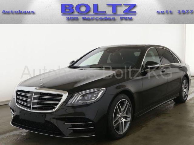 Mercedes-Benz S 450 L 4M ENp 145000 AMG Nachts 4x Sitzkl. 4x M, Jahr 2020, Benzin